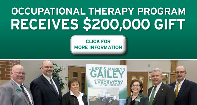 Family of Jesse Gailey Donate to Help Establish Occupational Therapy Program