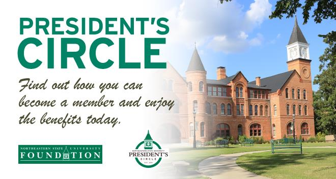 Are you a member of the President's Circle? Learn more.