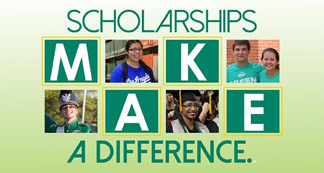 Scholarships make a difference!